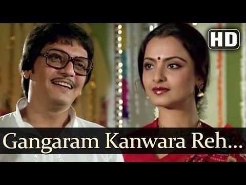 Ganga Ram Kunwara Reh Gaya  - Jeevan Dhara Songs - Raj Babbar - Rekha - Kishore Kumar