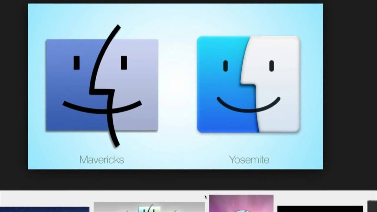 Apple's New Finder Icon in OS X Yosemite: MacBreak Weekly 413 - YouTube