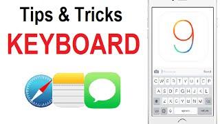 Ios 9 Tips And Tricks - Keyboard