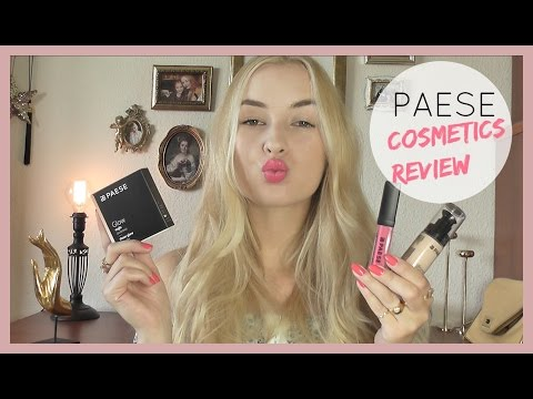 Paese Makeup Review + First Impressions!