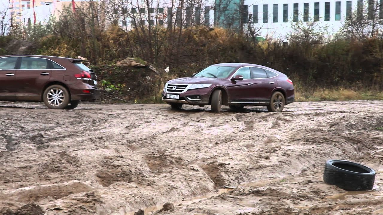 Honda Crosstour Off Road Youtube