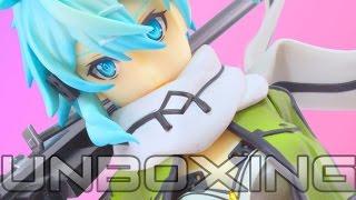Aquamarine | 1/7 Sinon - SWORD ART ONLINE - Anime Figure Unboxing ソードアート・オンラインII シノン