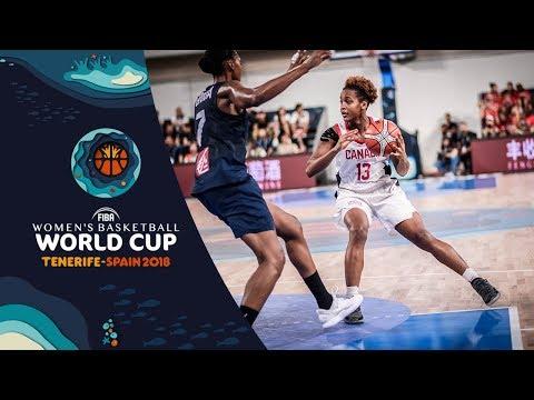 Canada v France - Highlights - FIBA Women