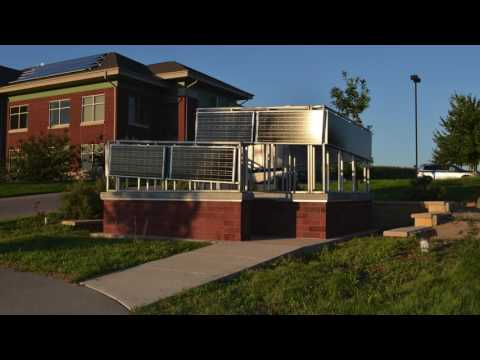Solar Labyrinth: Solar Powered Public Art