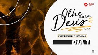 1º dia - Conferência de Oração -  Pr. Alcedir Sentalin.