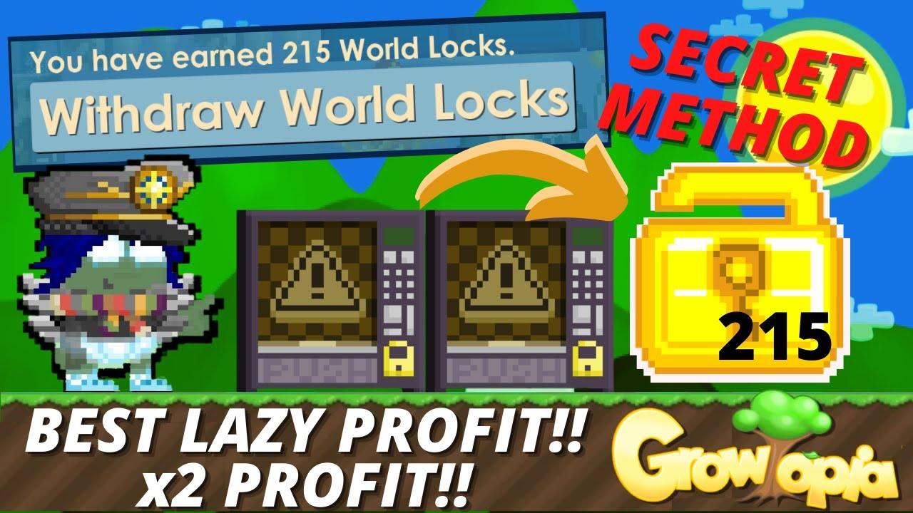 Download BEST LAZY PROFIT IN GROWTOPIA 2021 [DOUBLE PROFIT - FULL GUIDE]100% WORKS - GROWTOPIA PROFIT 2021