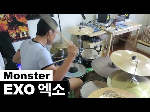 EXO - Monster // Drum Cover (엑소 - 몬스터)