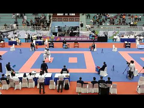 Test iven karate asian games 2018 Kopasus VS Lampung Kejuaraan antar master