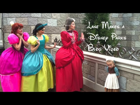 Lane Changes Disney Costumes Four Times in One Day