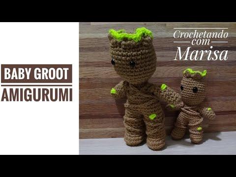 Baby Groot amigurumi paso a paso | Amigurumi patrones gratis ... | 360x480