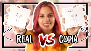 AirPods ORIGINAL VS. FALSO ¿Cuál es Mejor? 👀   Dolce Placard