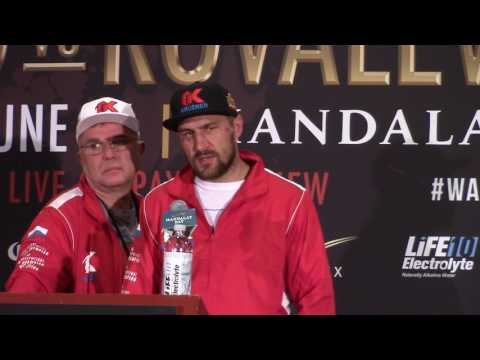 Sergey Kovalev Reacts To Being Knocked Out By Andre Ward. Post Fight HoopJab Boxing