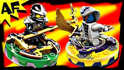 COLE vs RATTLA Lego Ninjago Spinner Battle & Starter Set Stop Motion Review 9579