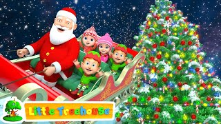 Jingle Bells | Christmas Songs | Nursery Rhymes Videos And Cartoons By Little Treehouse