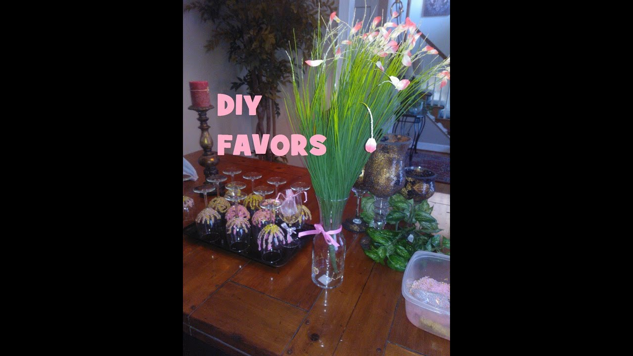 Craft Ideas For Baby Shower Favors