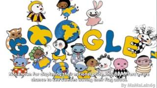 Sveriges nationaldag 2015 Google Doodle