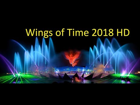 SENTOSA WINGS OF TIME FULL SHOW SINGAPORE ✅ 2018 - HD