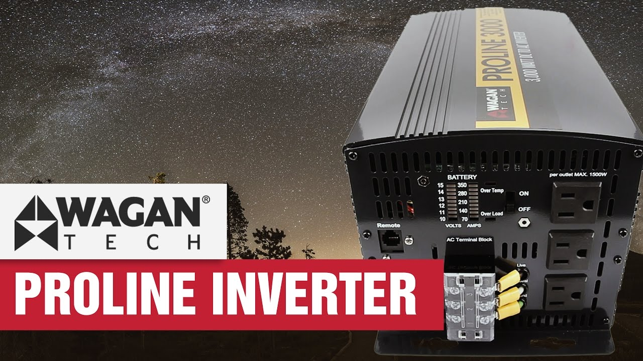 2017 proline power inverter - unboxing, specifications & features