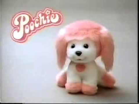 VINTAGE 80'S POOCHIE DOLL / PLUSH DOG AT CAMP COMMERCIAL ...