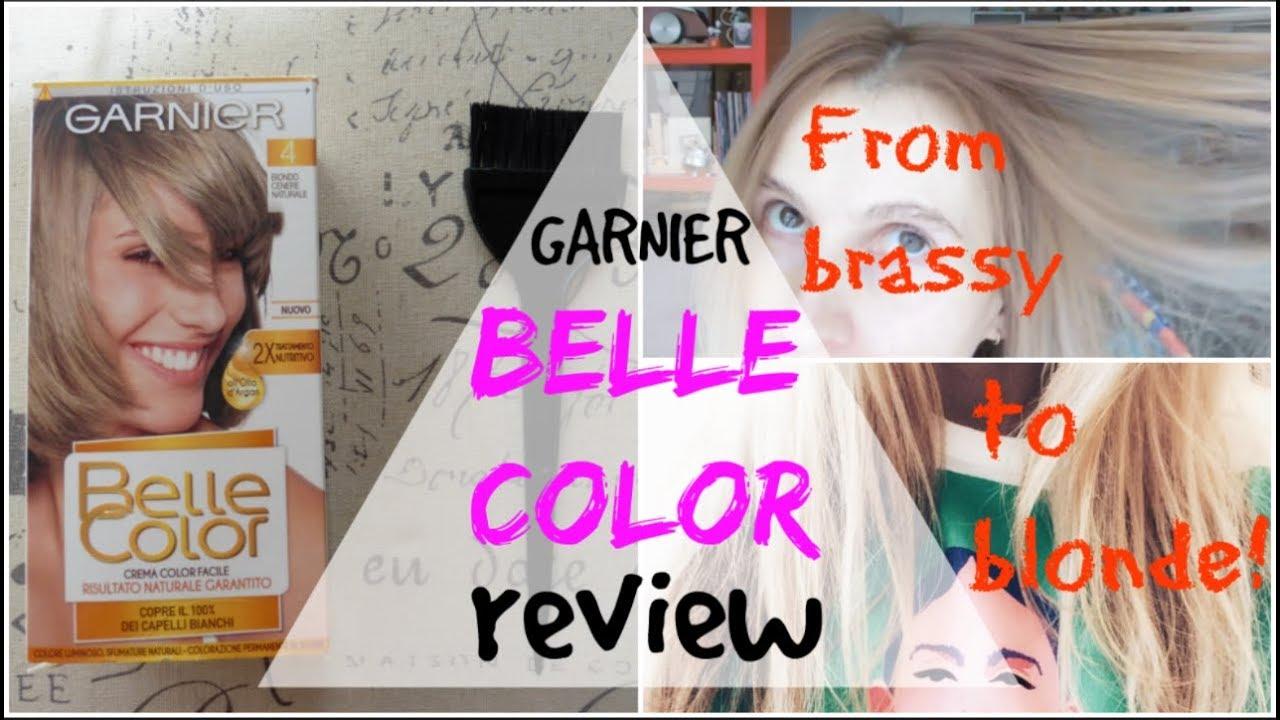 Garnier Belle Color 71 Natural Dark Ash Blonde Color Correction