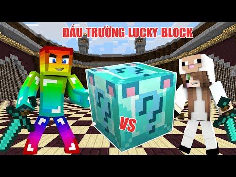 MINI GAME : DIAMOND WOLF LUCKY BLOCK ARENA ** THỬ THÁCH CHIẾN THẮNG CỪU TRONG ĐẤU TRƯỜNG LUCKY BLOCK