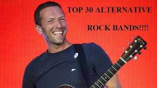TOP 30 BEST ALTERNATIVE ROCK BANDS YOU SHOULD LISTEN TO IN 2020