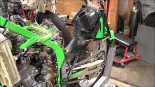 99-02 KX250 Shock Removal & Install