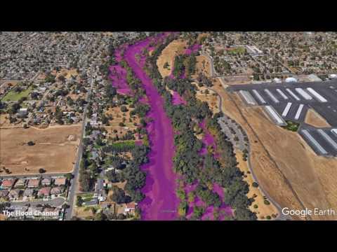 Modesto CA Flood Forecast 2017-02-21