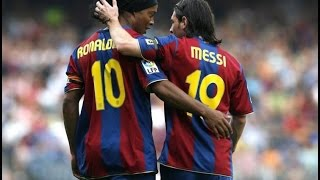 Amazing el clasico 2007 (march 10, 2007, week 26) with 6 goals scored, including hat-trick from lionel messi and 2 ruud van nistelrooy barcelona: ...