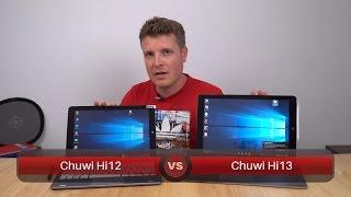 Chuwi Hi13 Vs Chuwi Hi12 Quick Comparison  - Which Should You Buy?