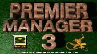 Premier Manager 3 gameplay (PC Game, 1994)