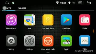 Woodman Smart Car Stereo (Android):  Tima App Mirror Link