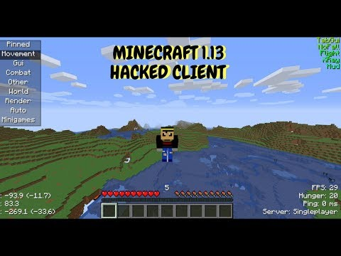 Aristois: Minecraft 1.13 Hacked Client!!!! (HOW TO INSTALL)
