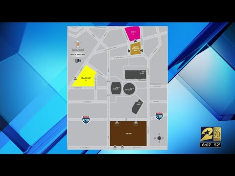 Rodeo Parking And Travel Options