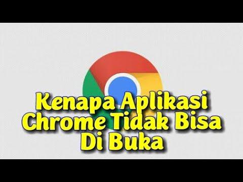 cara mengatasi google chrome tidak bisa dibuka.