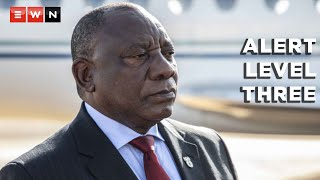President Cyril Ramaphosa has moved the country to alert level three on 15 July 2021 following a surge in COVID-19 infections. He also gave an update on the country's vaccination programme.