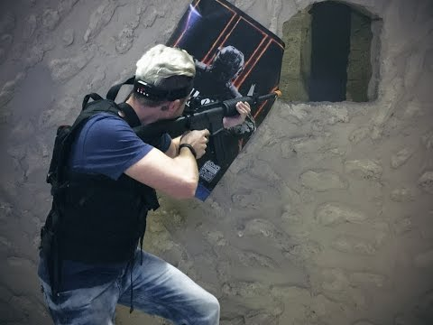 Call of Duty BlackOps III Laser Tag Launch Event - Shock Therapy