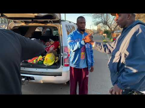 YAG ENT. Feeds The Tornado Victims In Columbus, Ms
