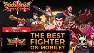 Is HERO VERSUS The Best Fighting Game On Mobile??