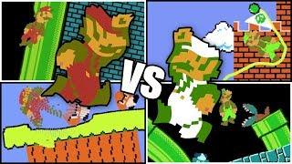 Jelly Luigi vs Jelly Mario | Jelly Mario Bros. Race!