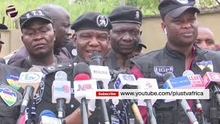 Nigerian Police Arrested 81 Criminals Parading The Northern State