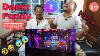 🔥🔥 मजेदार हिंदुस्तानी रीऐक्शन   Britain's Got Talent   Funniest Auditions  Genuine Indian Reaction