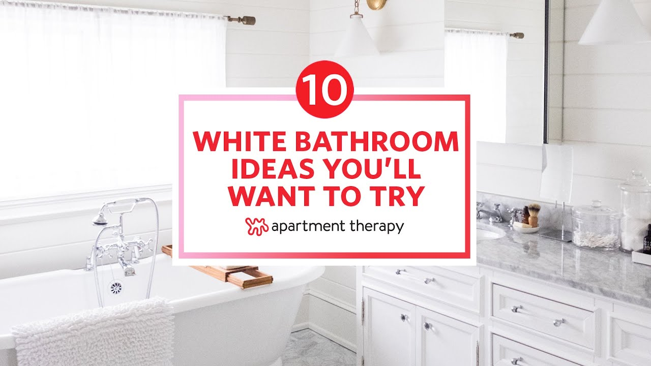 10 White Bathroom Ideas You Ll Want To
