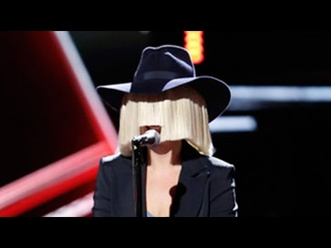 Sia Performs 'Elastic Heart' on the Voice