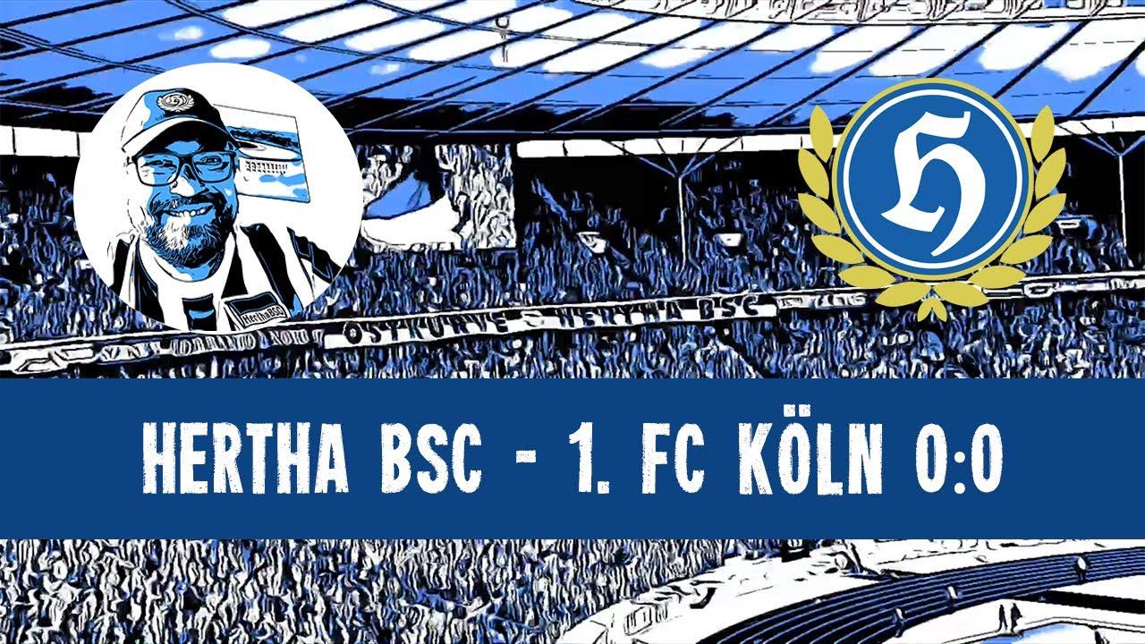 Hertha BSC - 1. FC Köln 0:0   15.05.2021   Mission erfüllt!