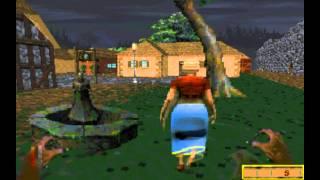 A wereboar on the loose in Daggerfall city