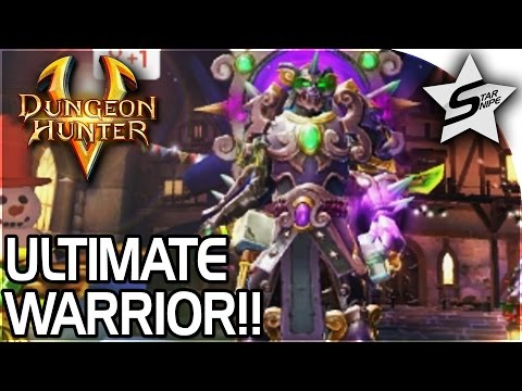 The ULTIMATE Warrior & AMAZING Armor, Weapons, And Loot!! - Dungeon Hunter 5 Gameplay Part 1 (DH5)