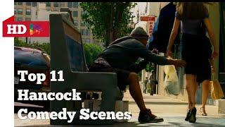 Hancock Movie (Hindi)   Comedy Scenes  