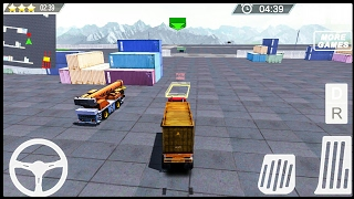 Cargo Ship Manual Crane 3 - Android Gameplay FHD