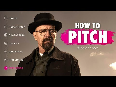 how to pitch a tv show pitch template examples